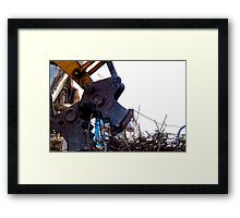 DEMOLITION - Monster Framed Print