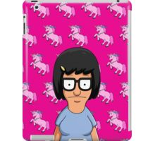 Tina Belcher Unicorn Pattern Hot Pink iPad Case/Skin