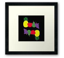Tutti Frutti Flip Fun Framed Print