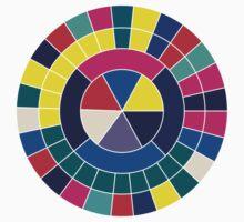 Colour Wheel Baby Tee
