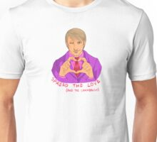 Hannibal - Spread the love and the cannibalism Unisex T-Shirt