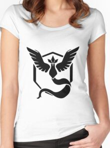 Pokemon Go | Team Mystic  Women's Fitted Scoop T-Shirt