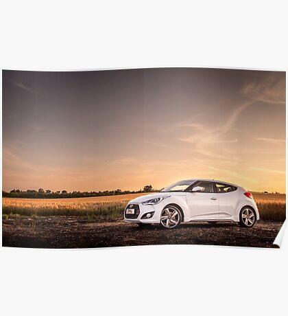 Hyundai Veloster Poster
