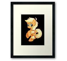 Chibi Applejack Framed Print