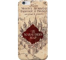Marauder's Map - Harry Potter iPhone Case/Skin