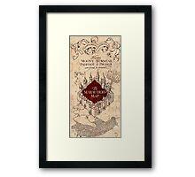 Marauder's Map - Harry Potter Framed Print