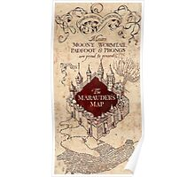 Marauder's Map - Harry Potter Poster