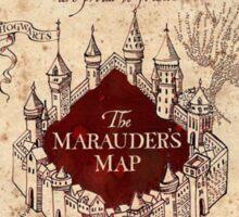 Marauder's Map - Harry Potter Sticker