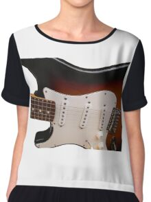 Fender Electric Guitar body Chiffon Top