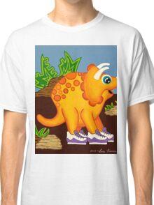 Yellow Dinosaur Classic T-Shirt