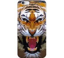 The Siberian tiger low poly art iPhone Case/Skin