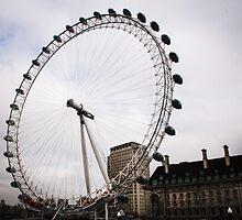 It's watching you - London Eye that is by visualimagery