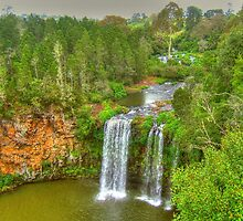 Dangar Falls .. the wider view by Michael Matthews