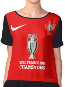 Portugal Jersey Champions Chiffon Top