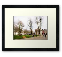Greenwich color Framed Print