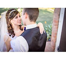 Tucker Wedding - Bride Photographic Print
