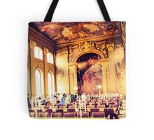 Fine dining at Greenwich Tote Bag