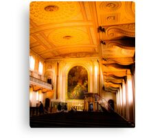 Greenwich Church  Canvas Print
