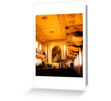 Greenwich Church  Greeting Card