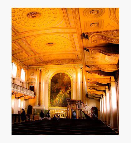 Greenwich Church  Photographic Print