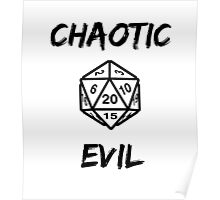 GAMER - Alignment : Chaotic evil Poster