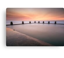 Cal Tidal Pool Sunrise Canvas Print