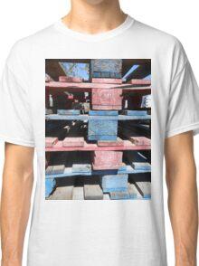 Red, blue, black, urban Classic T-Shirt