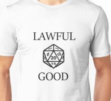 GAMER - Alignment : Lawful good Unisex T-Shirt