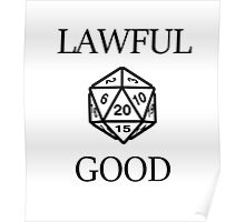 GAMER - Alignment : Lawful good Poster