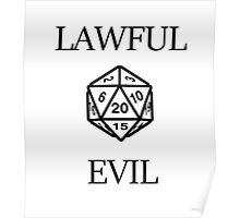 GAMER - Alignment : Lawful evil Poster