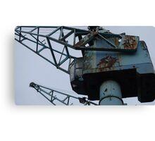 Rusty Industry Canvas Print