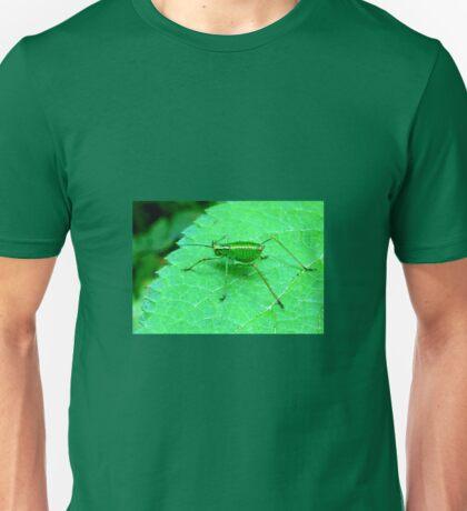 Green Bush Cricket Unisex T-Shirt