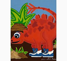 Red Dinosaur Unisex T-Shirt