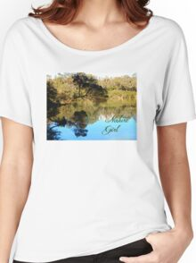 Nature Girl - Lake Women's Relaxed Fit T-Shirt