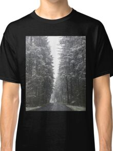 Breathtaking Snowy Forest  Classic T-Shirt