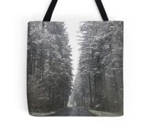 Breathtaking Snowy Forest  Tote Bag