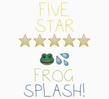 Five Star Frog Splash Kids Tee