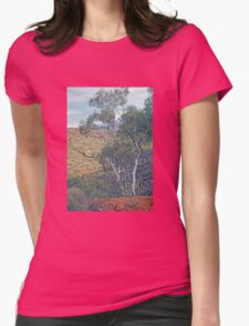 Natural Beauty - Outback in the Flinders Ranges Womens Fitted T-Shirt