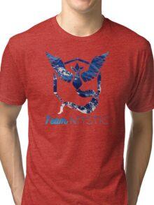 Pokemon Go - Team Mystic Tri-blend T-Shirt