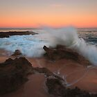 A Splash of Dawn - Koonya Beach Blairgowrie by Jim Worrall