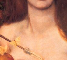 Vintage Fine Art - Dante Gabriel Rossetti - 1868 Sticker