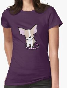 The Chihuahua Womens Fitted T-Shirt
