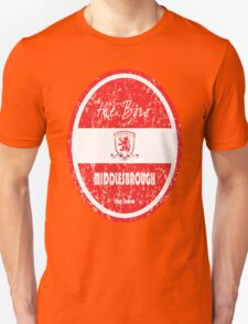 EPL 2016 - Football - Middlesbrough (Distressed) Unisex T-Shirt