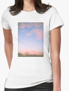 Dusty Sky Womens Fitted T-Shirt