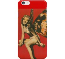 Vintage Fairy Pin-up iPhone Case/Skin