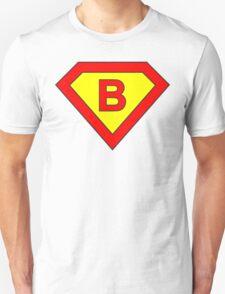 Superman alphabet letter Unisex T-Shirt