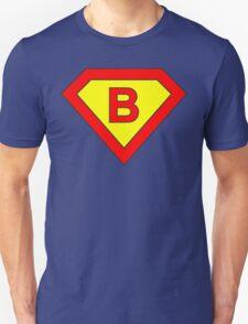 Superman alphabet letter T-Shirt