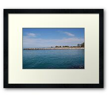 From the Other Side Framed Print