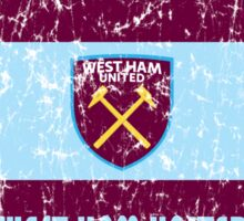 EPL 2016 - Football - West Ham United (Distressed) Sticker