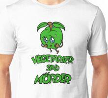 Apfel - Vegetarier sind Mörder Unisex T-Shirt